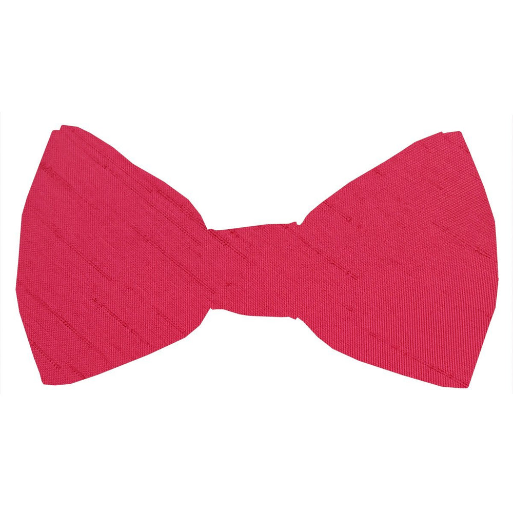 Pomegranate Shantung Boys Bow Tie - Childrenswear