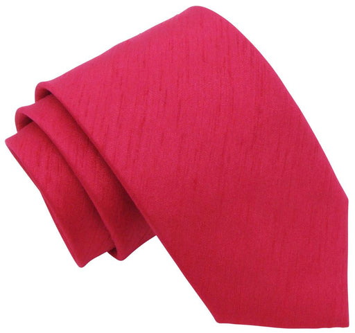 Pomegranate Shantung Wedding Tie - Wedding