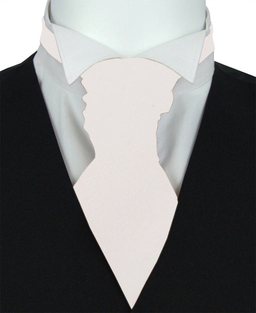 Porcelain Pre-Tied Wedding Cravat - Wedding