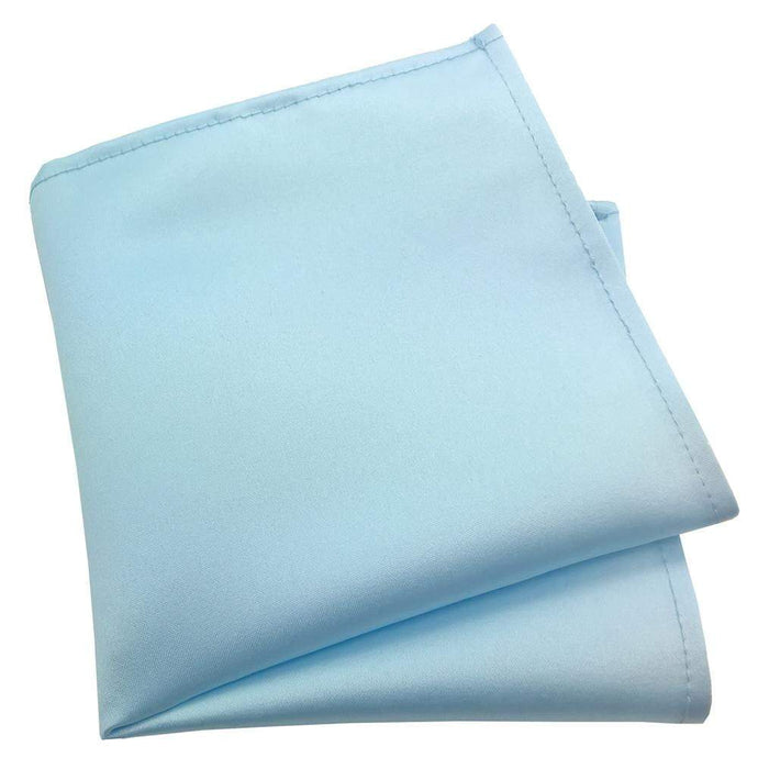 Powder Blue Pocket Square - Wedding
