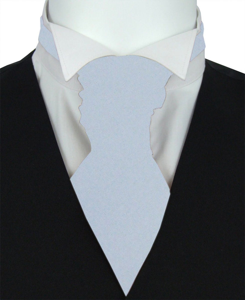 Princess Blue Boys Pre-Tied Wedding Cravat - Childrenswear