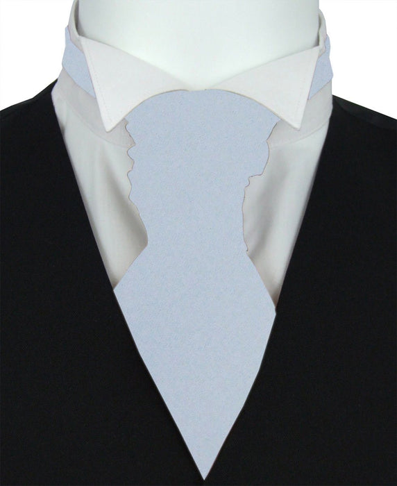 Princess Blue Pre-Tied Wedding Cravat - Wedding