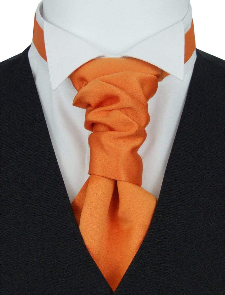 Pumpkin Pre-Tied Wedding Cravat - Wedding