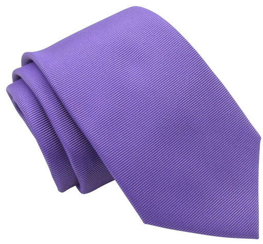 Purple Twill Wedding Tie - Wedding