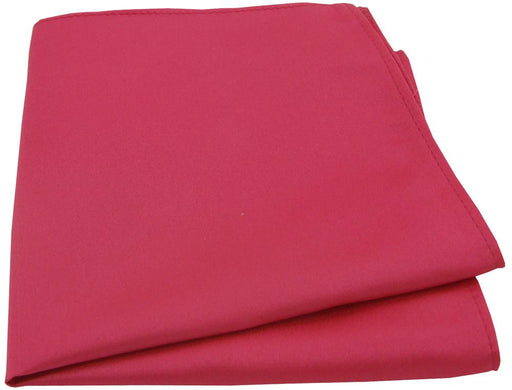 Raspberry Pocket Square - Wedding