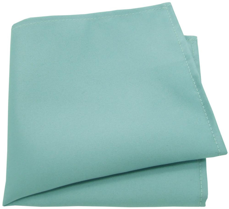 Robin Egg Blue Pocket Square - Wedding