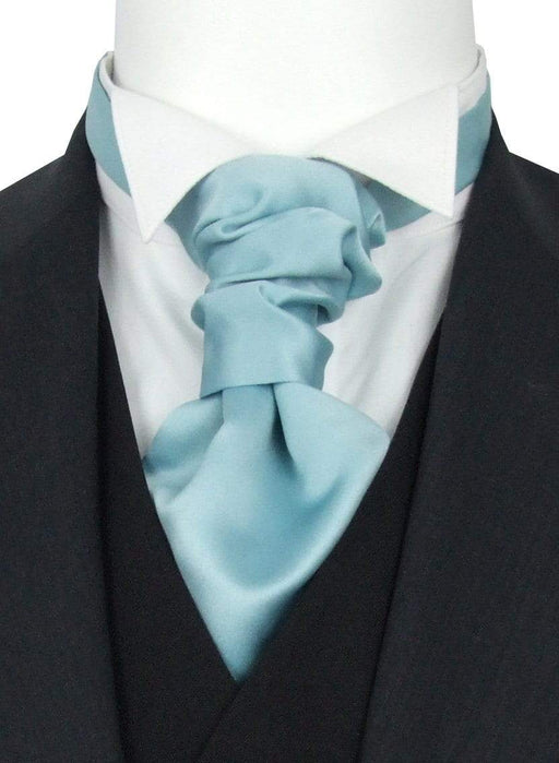 Robin Egg Blue Pre-Tied Wedding Cravat - Wedding