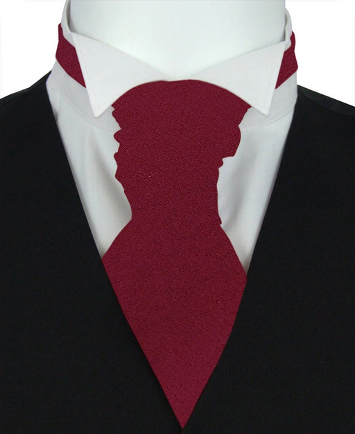 Rose Boys Pre-Tied Wedding Cravat - Childrenswear