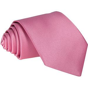 Rose Pink Boys Tie - Childrenswear