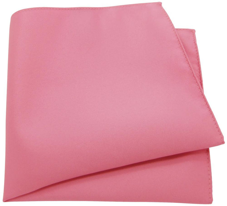 Rose Pink Pocket Square - Wedding