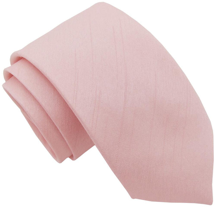Rose Quartz Shantung Boys Tie - Childrenswear