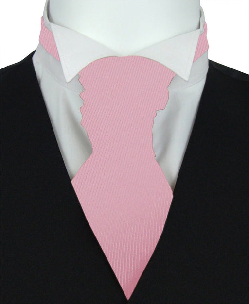 Rose Twill Pre-Tied Wedding Cravat - Wedding