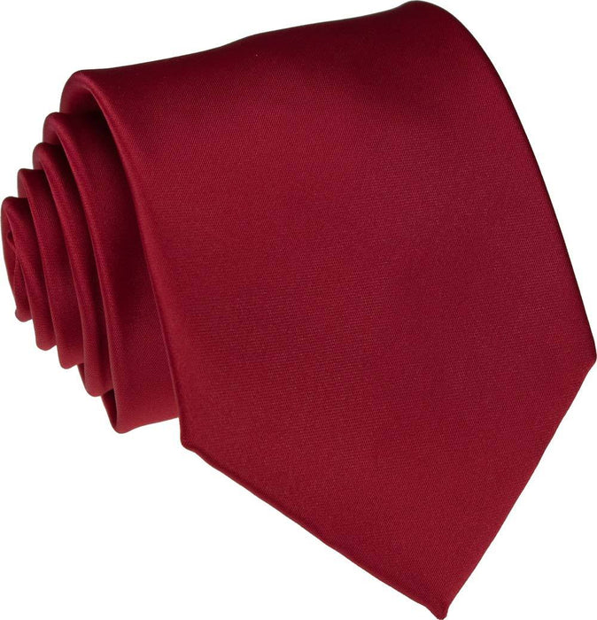Ruby Skinny Wedding Tie - Wedding