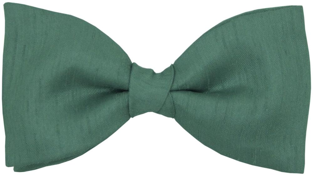 Sage Shantung Bow Tie - Childrenswear