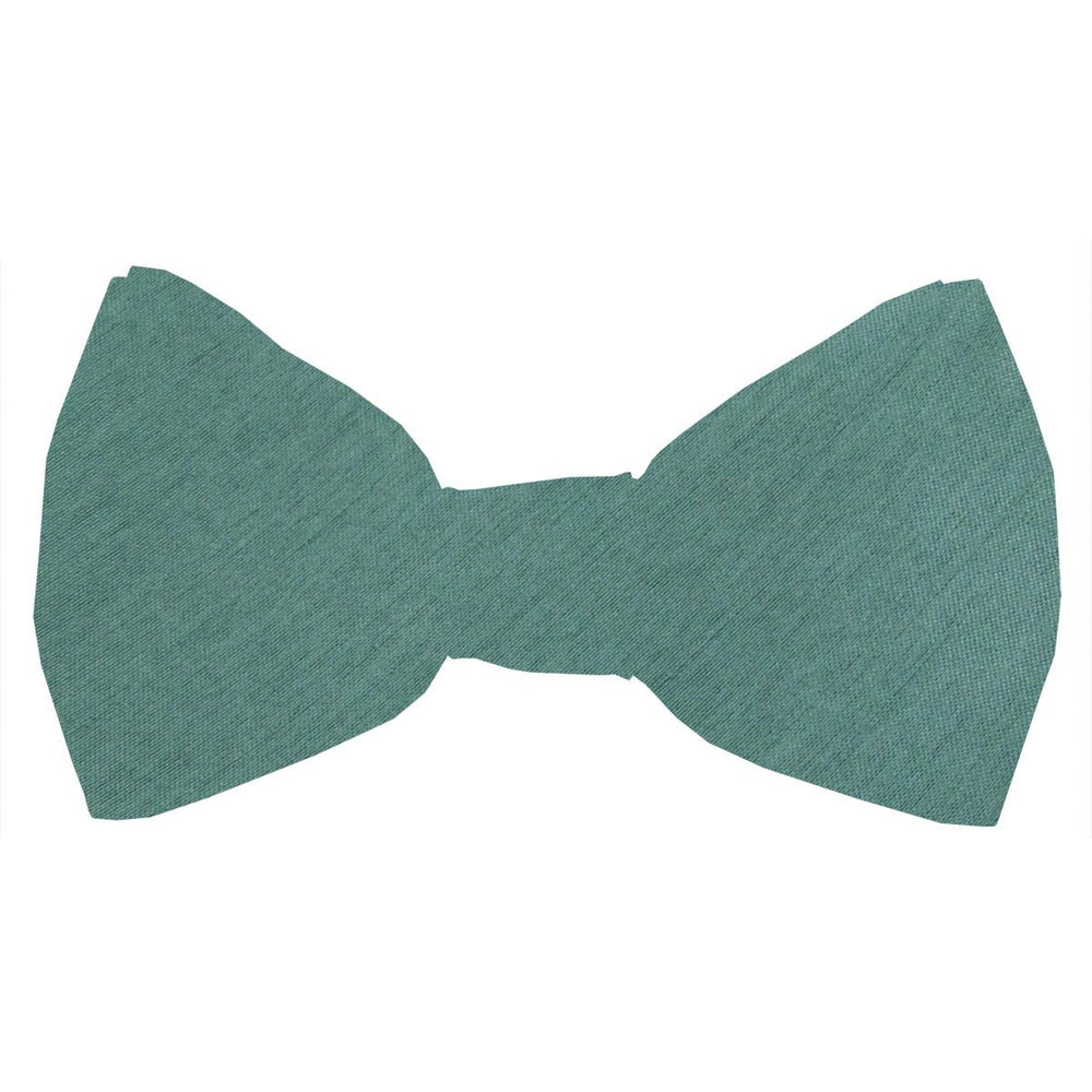 Sage Shantung Boys Bow Tie - Childrenswear