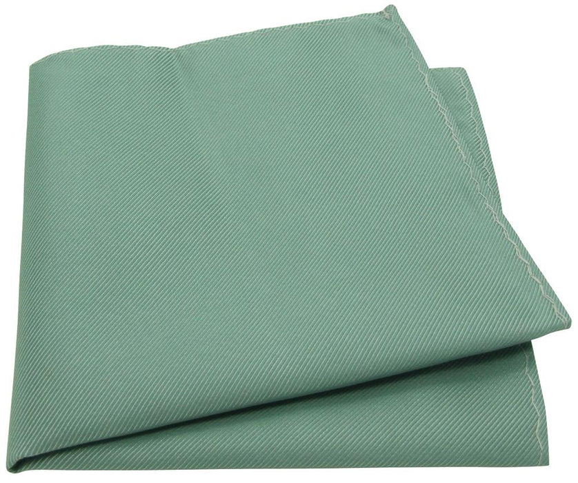 Sage Twill Pocket Square - Wedding