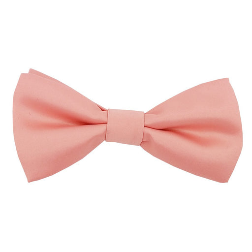 Salmon Peach Bow Tie - Wedding