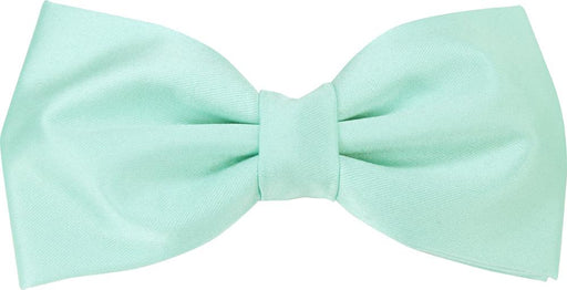 Seafoam Aqua Bow Tie - Wedding