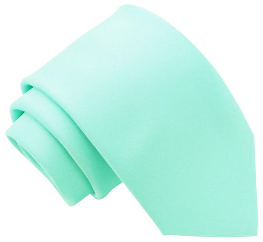 Seafoam Aqua Boys Tie - Childrenswear