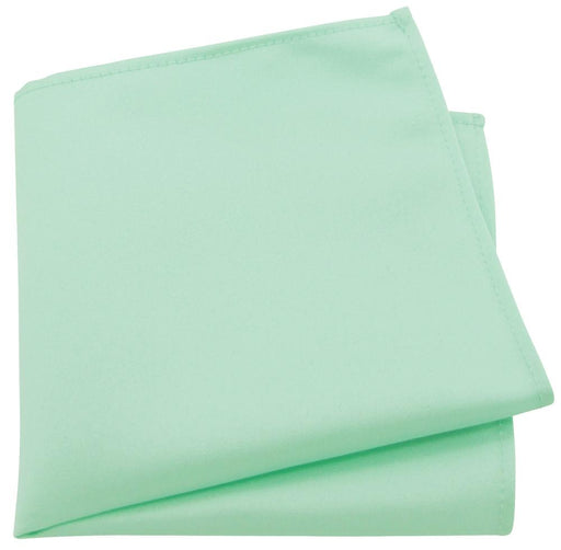 Seafoam Green Pocket Square - Wedding