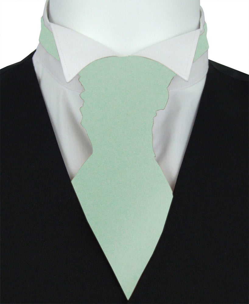 Seagrass Pre-Tied Wedding Cravat - Wedding