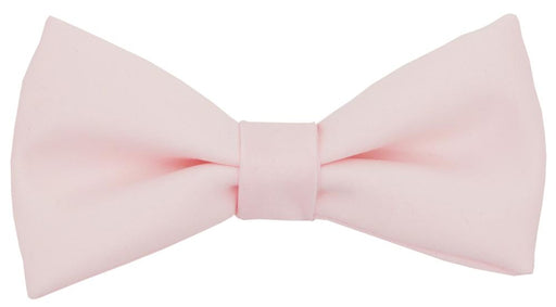 Shell Pink Boys Bow Tie - Childrenswear