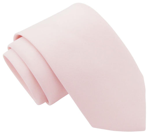 Shell Pink Boys Tie - Childrenswear
