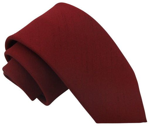 Shiraz Red Boys Tie - Childrenswear
