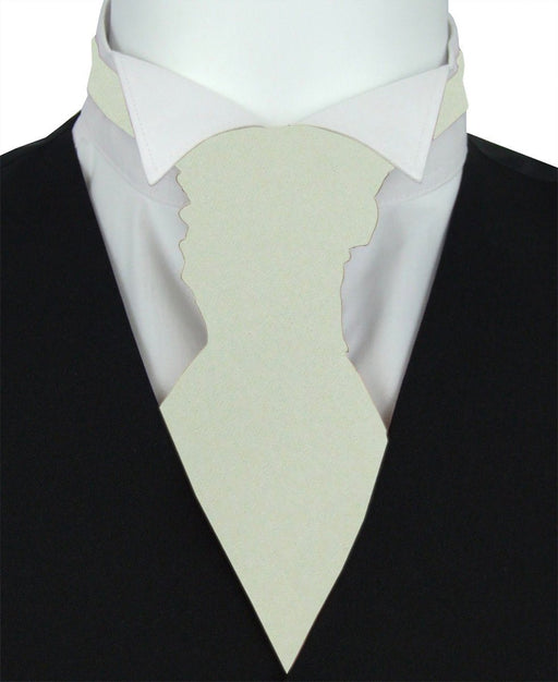 Silver Birch Pre-Tied Wedding Cravat - Wedding