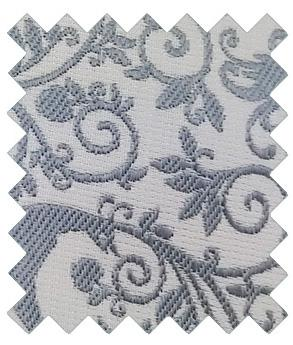 Silver Peacock Wedding Swatch - Swatch