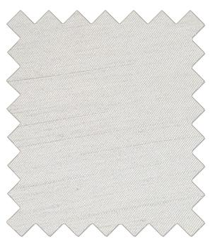 Silver Shantung Wedding Swatch - Wedding