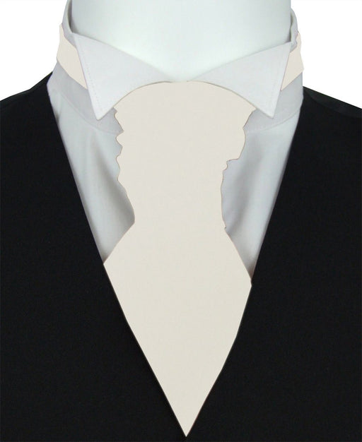Snowdrop Pre-Tied Wedding Cravat - Wedding