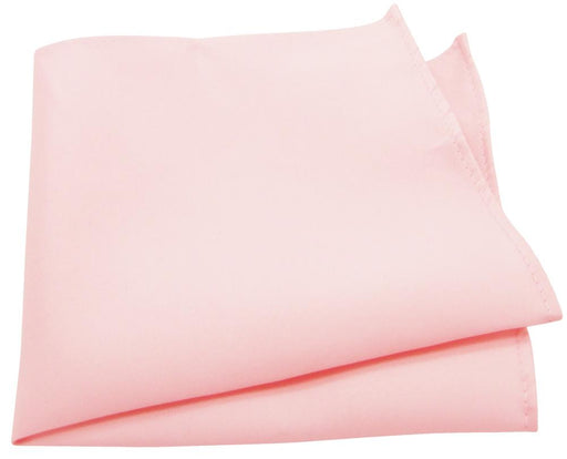 Soft Pink Pocket Square - Wedding
