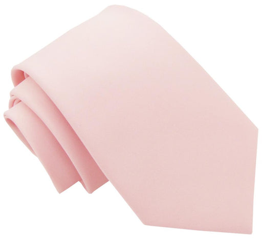 Soft Pink Wedding Tie - Wedding