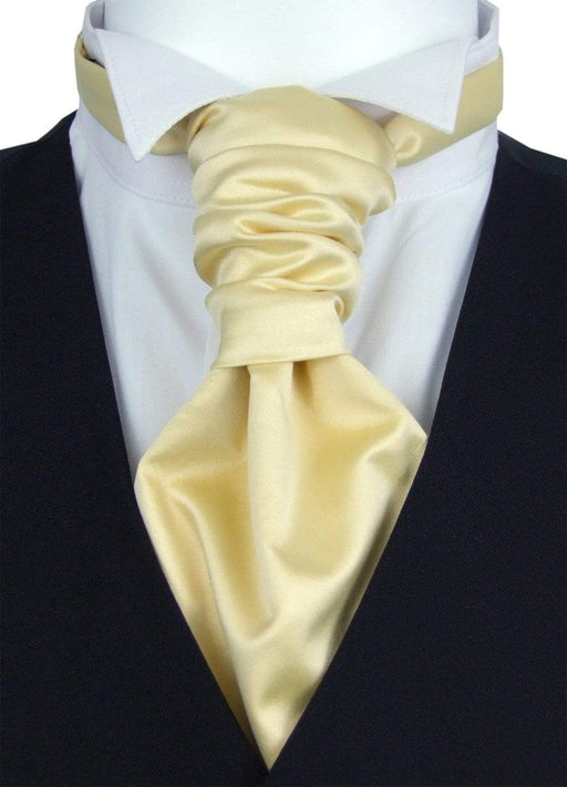 Straw Pre-Tied Wedding Cravat - Wedding