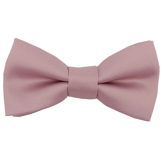 Suede Pink Bow Ties - Childrenswear