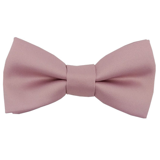 Suede Pink Boys Bow Tie - Childrenswear