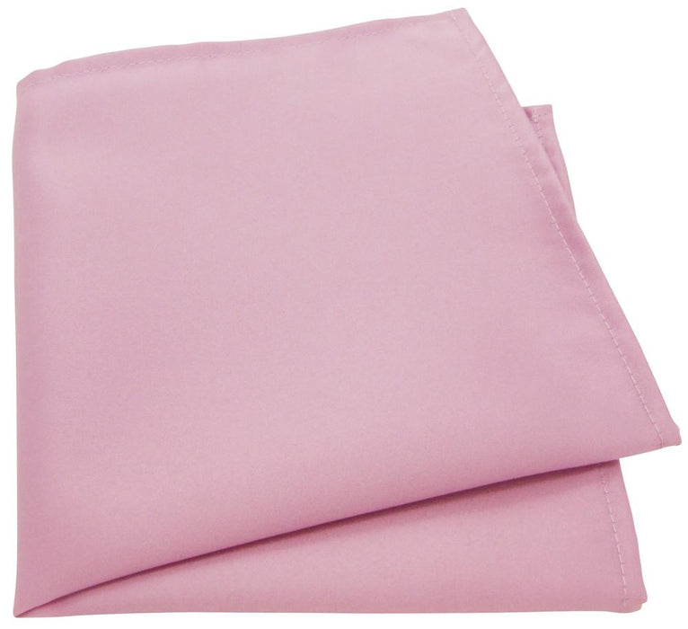 Suede Pink Pocket Square - Wedding