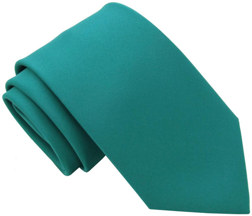 Teal Skinny Wedding Tie - Wedding