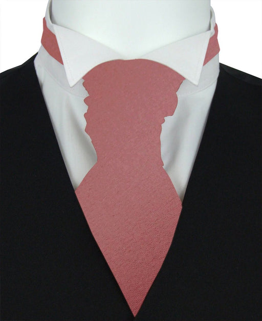 Terracotta Boys Pre-Tied Wedding Cravat - Childrenswear