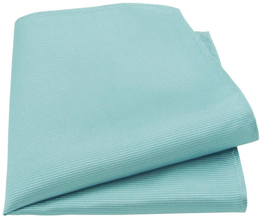 Tiffany Blue Silk Pocket Square - Wedding