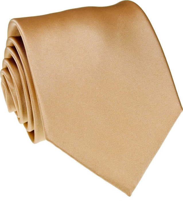Toffee Skinny Wedding Tie - Wedding