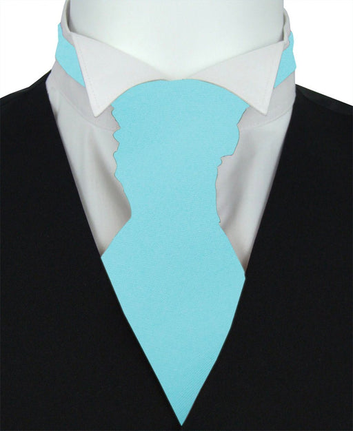 Topaz Pre-Tied Wedding Cravat - Wedding
