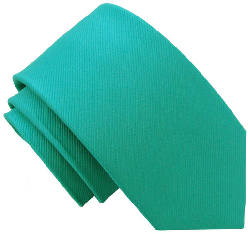 Turquoise Silk Wedding Tie - Wedding