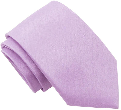Wisteria Shantung Wedding Tie - Wedding