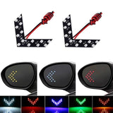 14 SMD LED Arrow Panel For Car Rear View Mirror Indicator