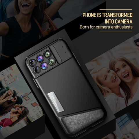 Dual Camera Lens Case For iPhone