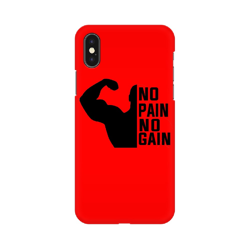 NO Pain N0 Gain Phone Case - Apple Iphone X