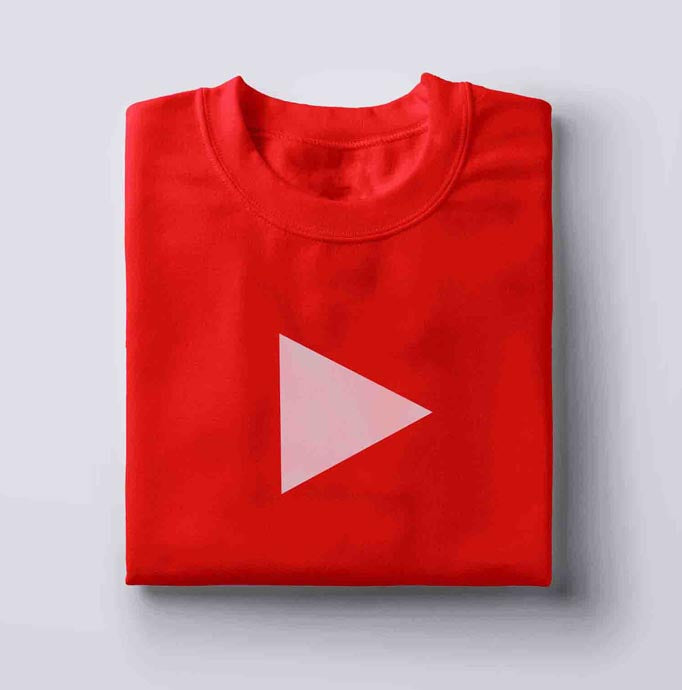 YOUTUBE PLAY BUTTON - T-SHIRT