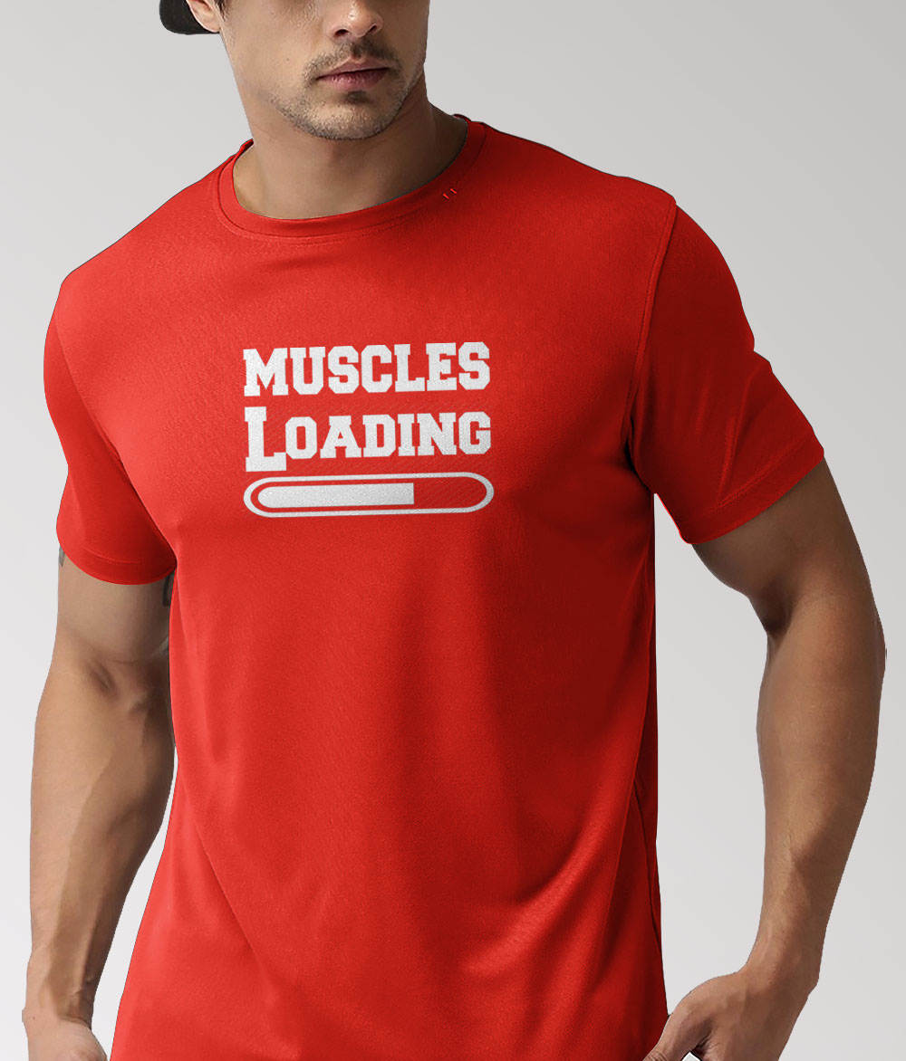 MUSCLES LOADING - T-SHIRT - Passion Swap
